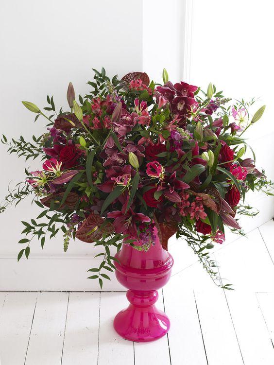 Urn floral arrangements