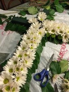DIY Funeral Flower Arrangements