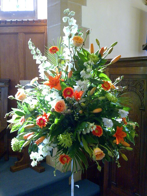 Flower Arrangements for Church