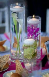 DIY flower arrangements for bridal showers