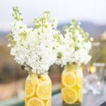 DIY bridal shower flowers