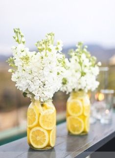 DIY bridal shower flowers