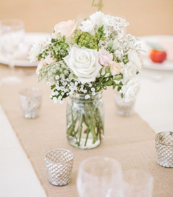 Easy DIY flower arrangements for bridal showers