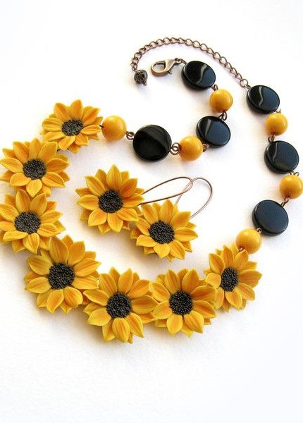 Flower Inspired Necklaces