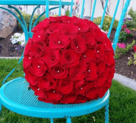 Red Roses Bouquet DIY