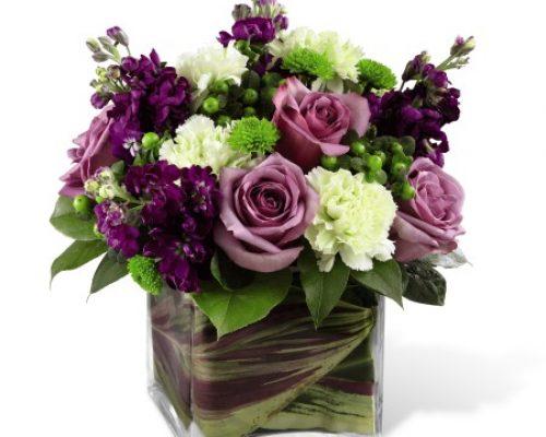 Square Vase Flower Arrangements  sc 1 st  Flowers & Square Vase Flower Arrangements - Flowersandflowerthings