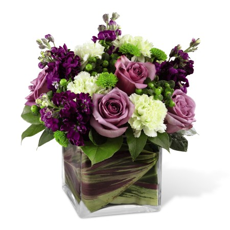 Square Vase Flower Arrangements