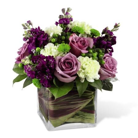 Square Vase Flower Arrangements