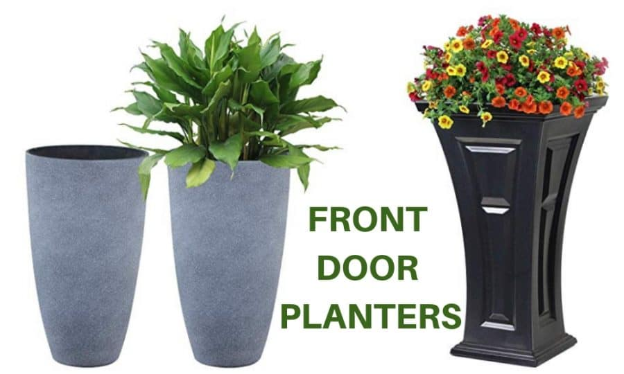 Front Door Planters Ideas